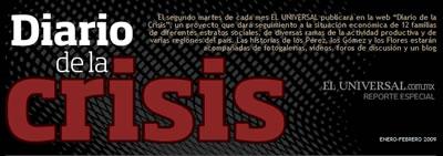 El Universal de México: Reportaje Diario de la Crisis