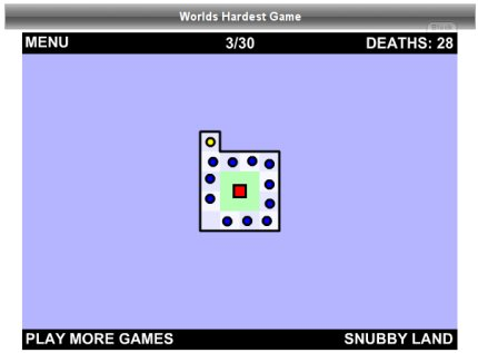 Nivel 3 - World's Hardest Game