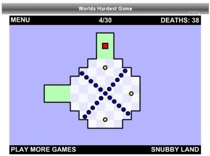 Nivel 4 - World's Hardest Game